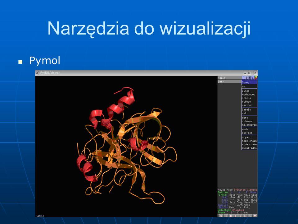 Narzędzia do wizualizacji Pymol