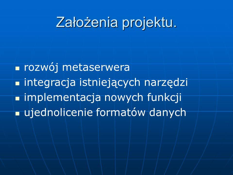 Założenia projektu.
