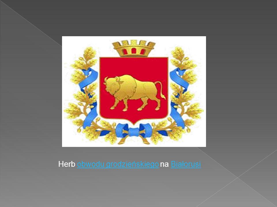 Herb obwodu grodzieńskiego na Białorusiobwodu grodzieńskiegoBiałorusi