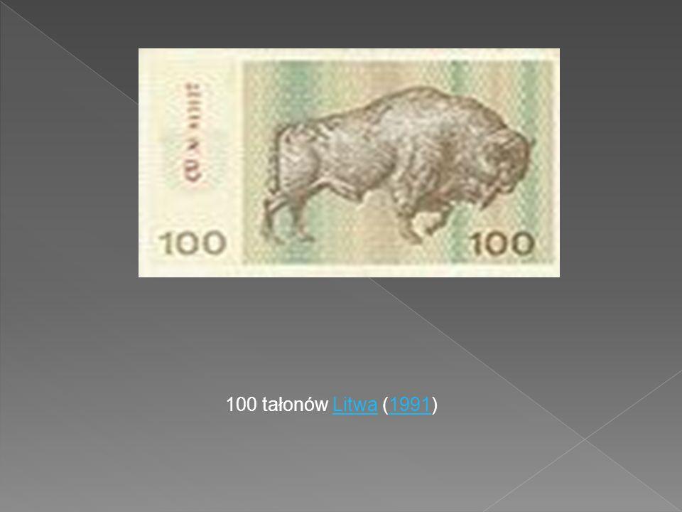 100 tałonów Litwa (1991)Litwa1991