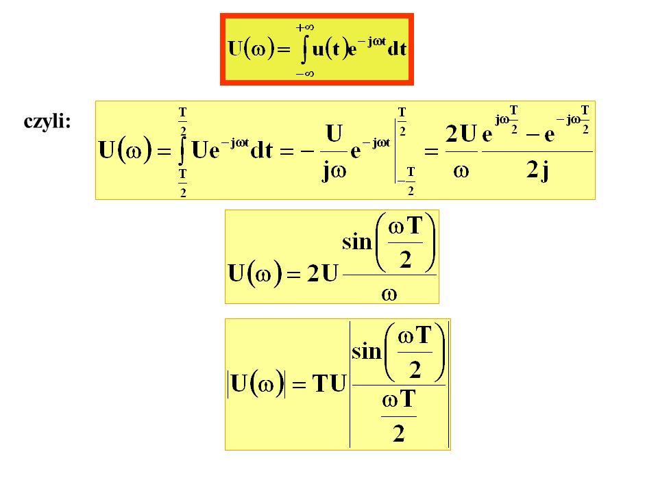 Transformata Fouriera sygnału s(t) jest: M(f) -W W -f c fcfc 0.5A c M(0) f f 2W fala DSB-SC S(f)