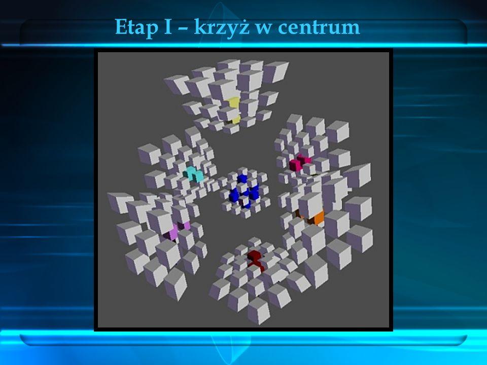 Krawędzie (3C) Etap I – krzyż w centrum
