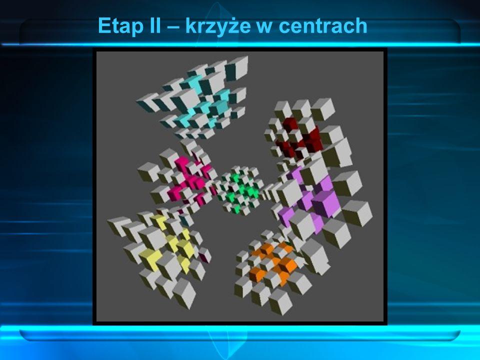 Krawędzie (3C) Etap II – krzyże w centrach