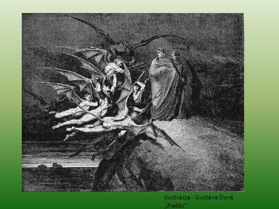 Ilustracja - Gustave Doré Piekło