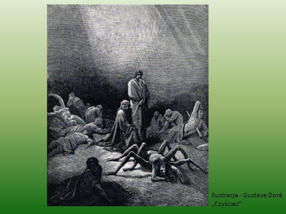 Ilustracja - Gustave Doré Czyściec