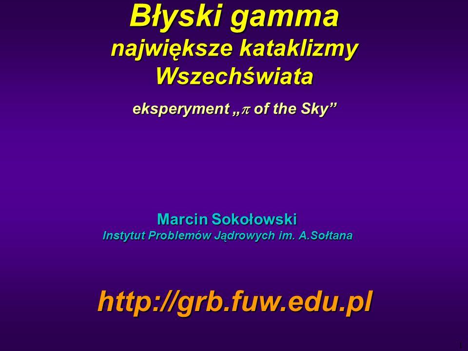 12 Galeria supernowych (X) SN 1987 SN 1572 SN w Kasjopei Krab SN 386