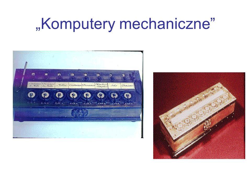 Komputery mechaniczne