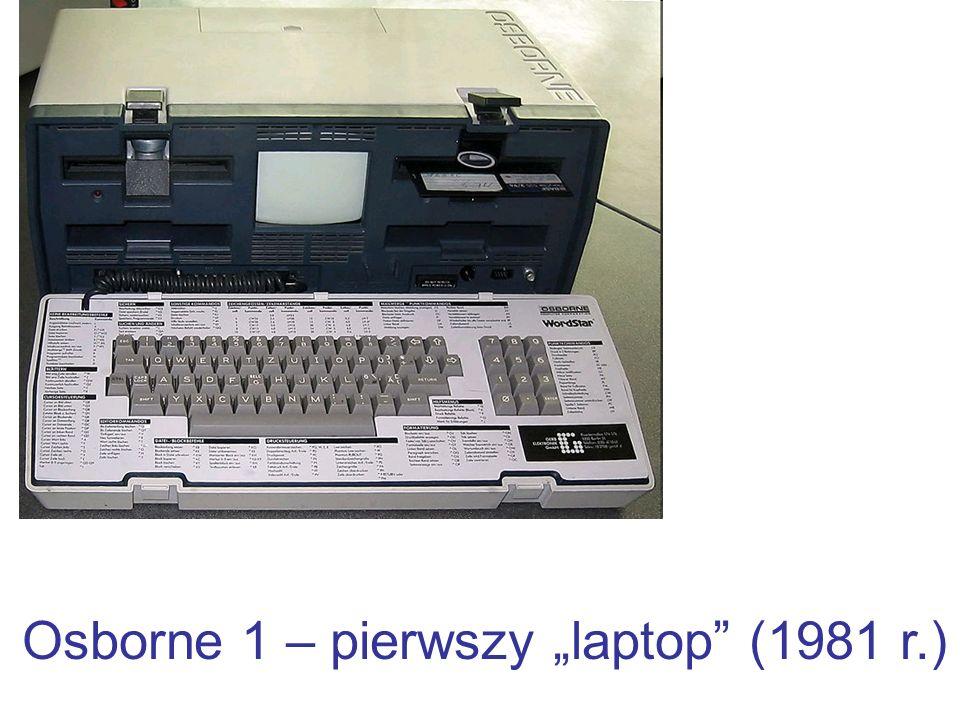 Osborne 1 – pierwszy laptop (1981 r.)