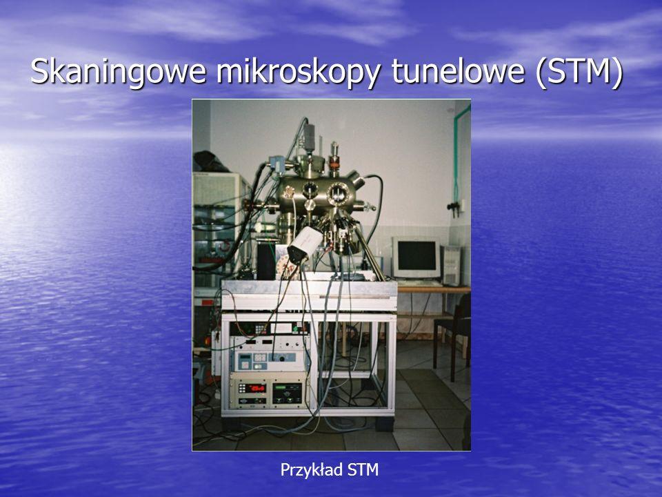 Skaningowe mikroskopy tunelowe (STM) Przykład STM