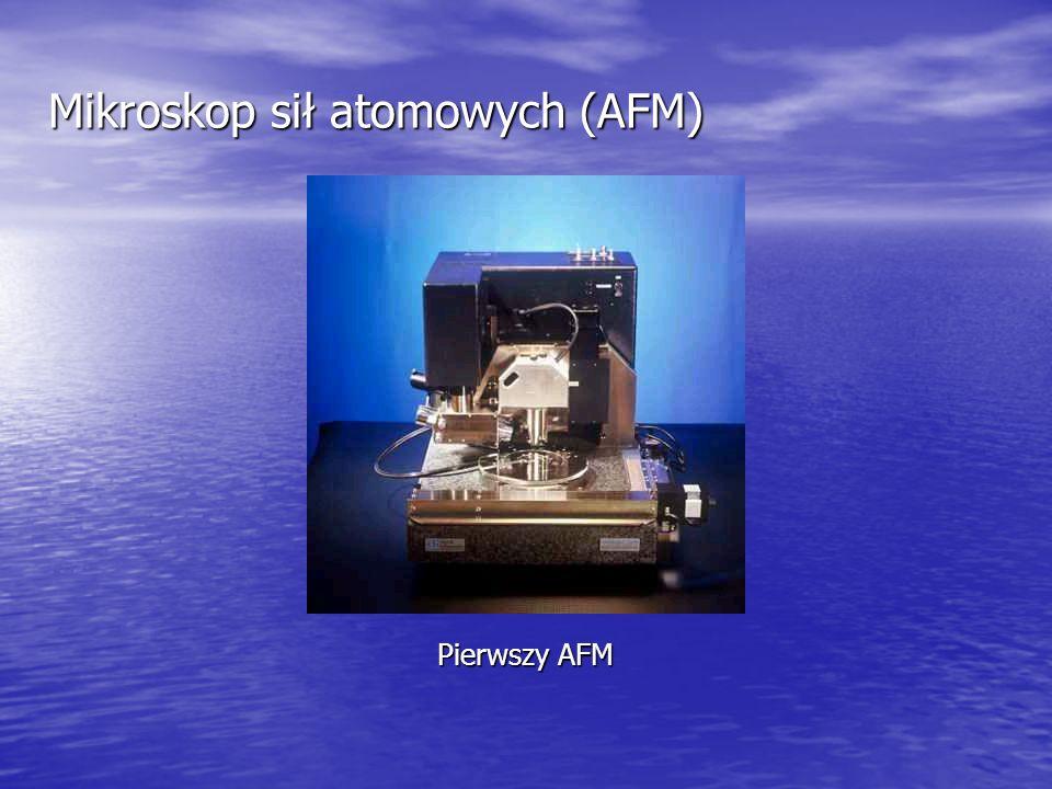 Mikroskop sił atomowych (AFM) Pierwszy AFM