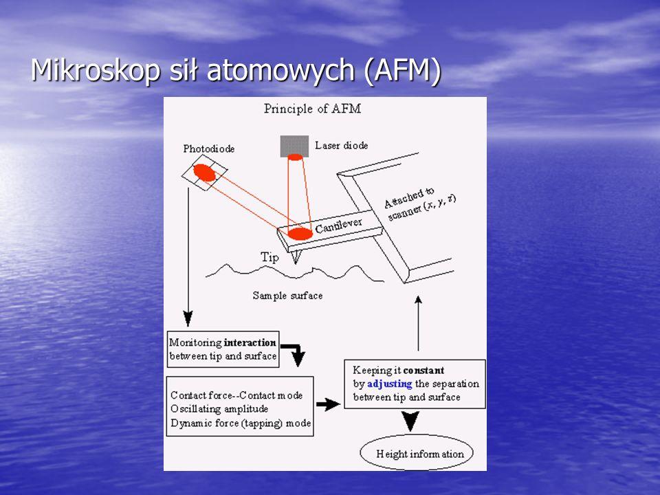 Mikroskop sił atomowych (AFM)