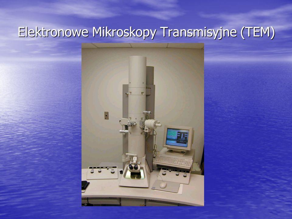 Inne koncepcje: Mikroskopy o punktowej projekcji (Point-Projection Microscopes) Przykładowy obraz z PPM (cień obiektu badanego, obraz przetworzony matematycznie)