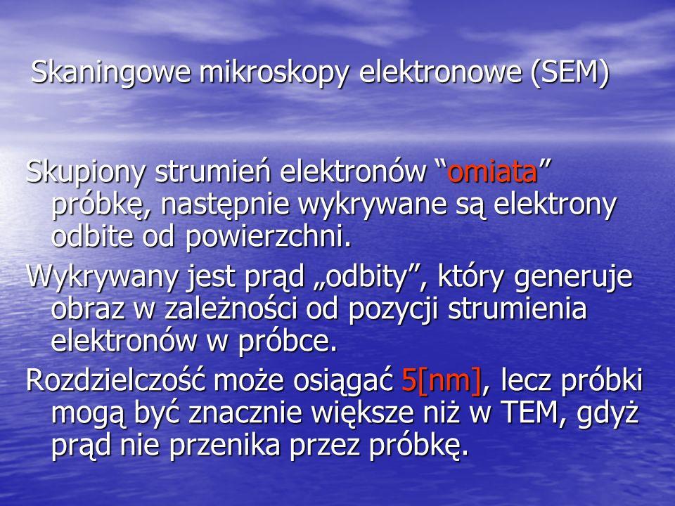 Skaningowe mikroskopy tunelowe (STM) Zasada działania STM