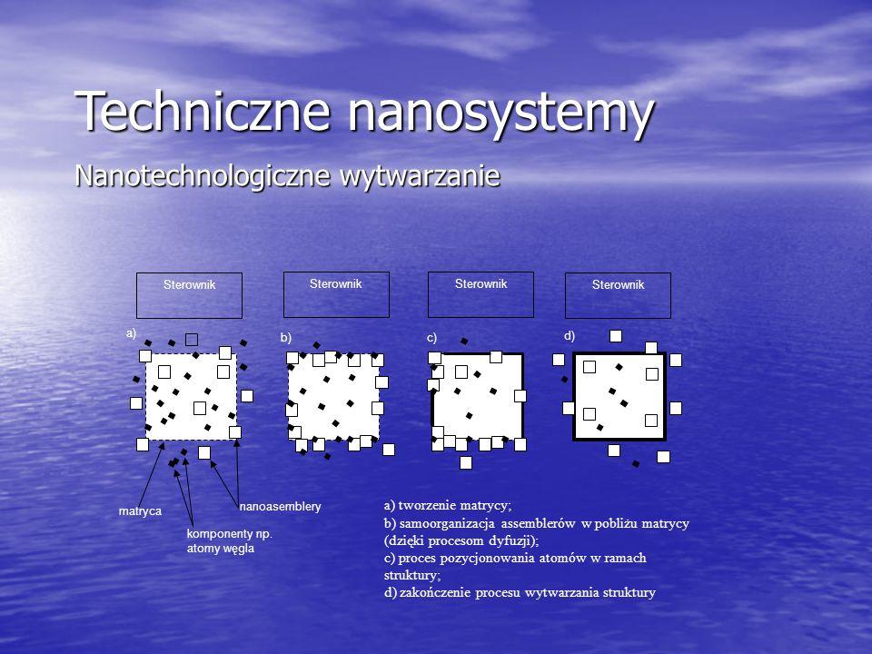 Techniczne nanosystemy Nanotechnologiczne wytwarzanie