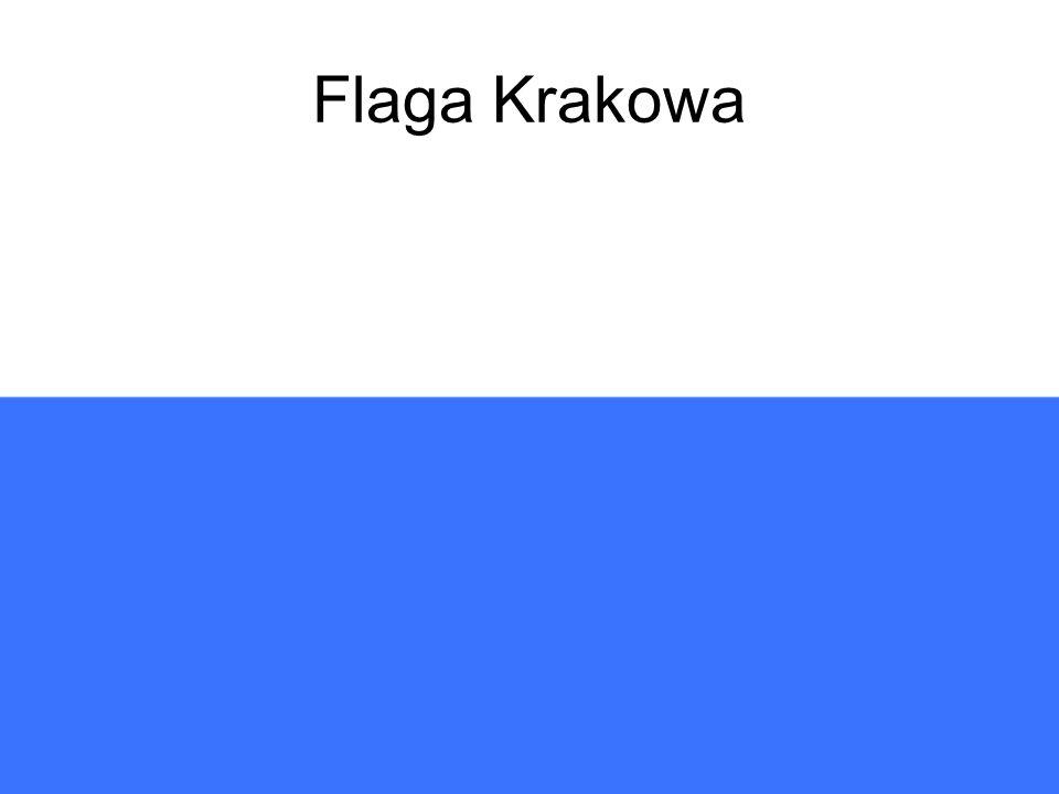 Flaga Krakowa