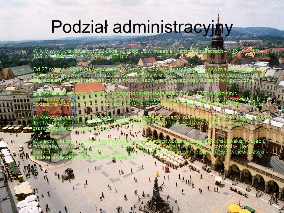Podział administracyjny W XIV w.