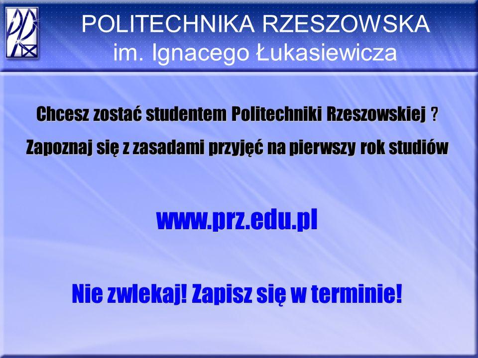 POLITECHNIKA RZESZOWSKA im.