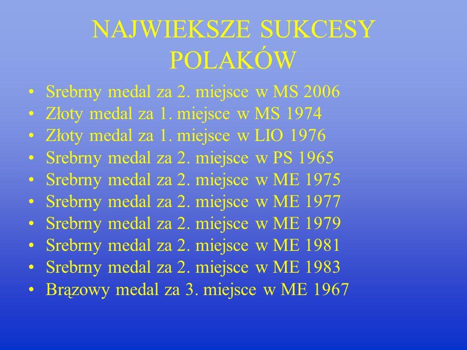Andrzej Niemczyk Trener reprezentacji Polski kobiet w latach 1975- 1977/2003-2006 Złoty medal na Mistrzostwach Europy w Turcji- 2003 Złoty medal na Mistrzostwach Europy w Chorwacji- 2005