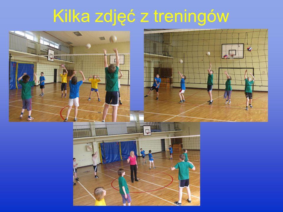 Szkolna drużyna siatkówki Trener: Barbara Wierzchucka Zawodnikami są chłopcy z klas V