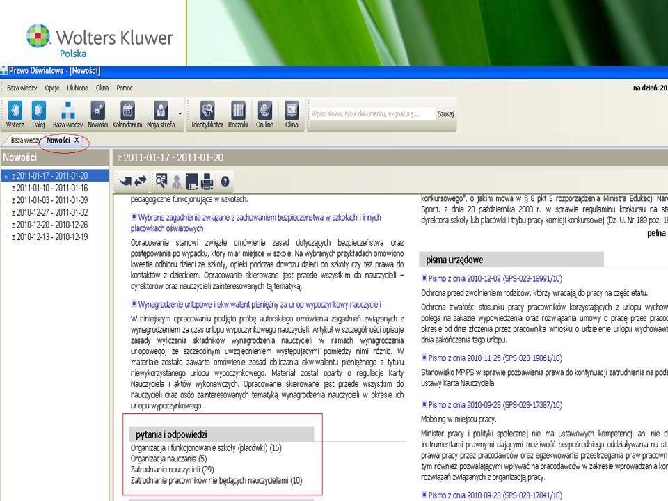 Wolters Kluwer Polska S.A, ul. Płocka 5a, 01-231 Warszawa, tel.: 0 801 04 45 45, www.wolterskluwer.pl55