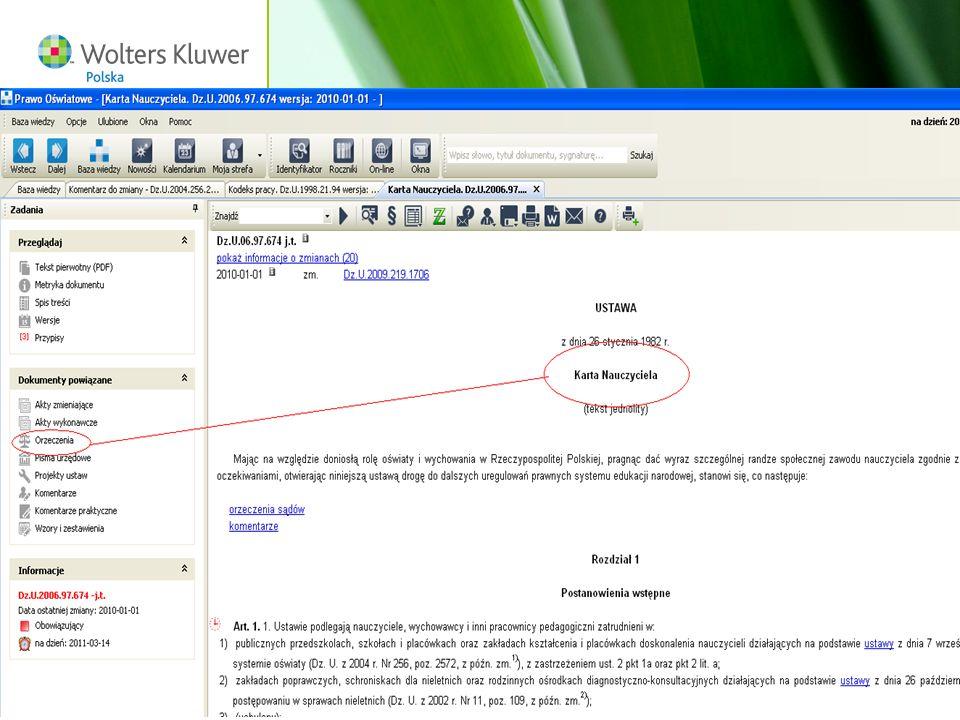 Wolters Kluwer Polska S.A, ul. Płocka 5a, 01-231 Warszawa, tel.: 0 801 04 45 45, www.wolterskluwer.pl71