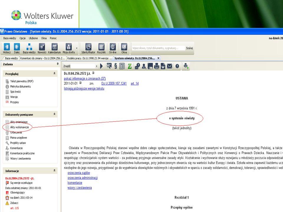 Wolters Kluwer Polska S.A, ul. Płocka 5a, 01-231 Warszawa, tel.: 0 801 04 45 45, www.wolterskluwer.pl73