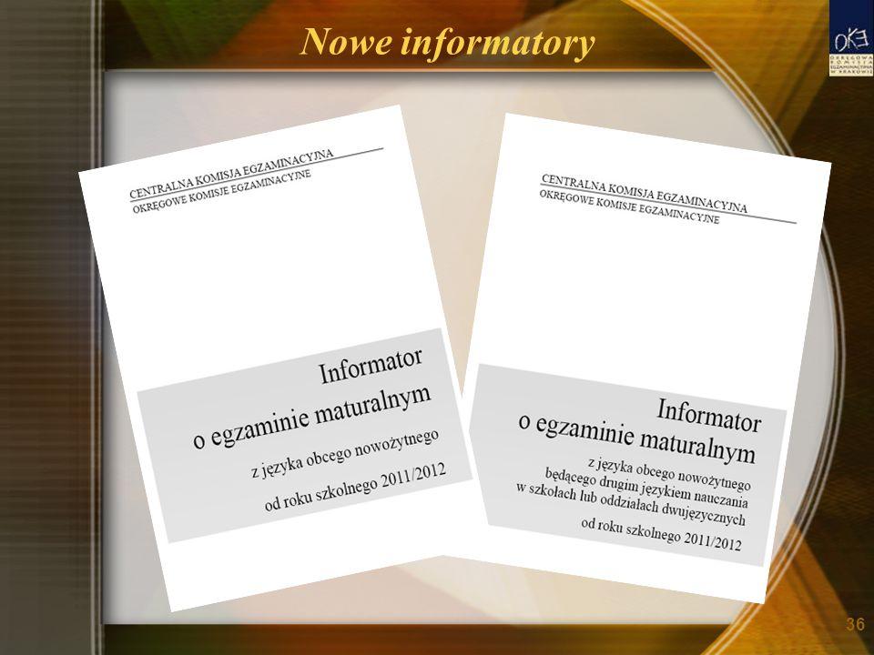Nowe informatory 36