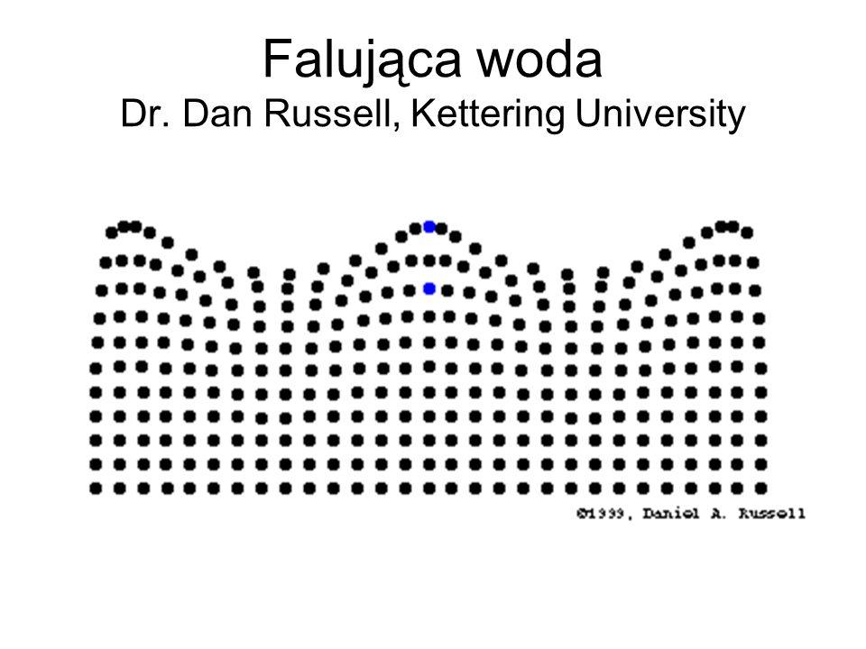 Falująca woda Dr. Dan Russell, Kettering University
