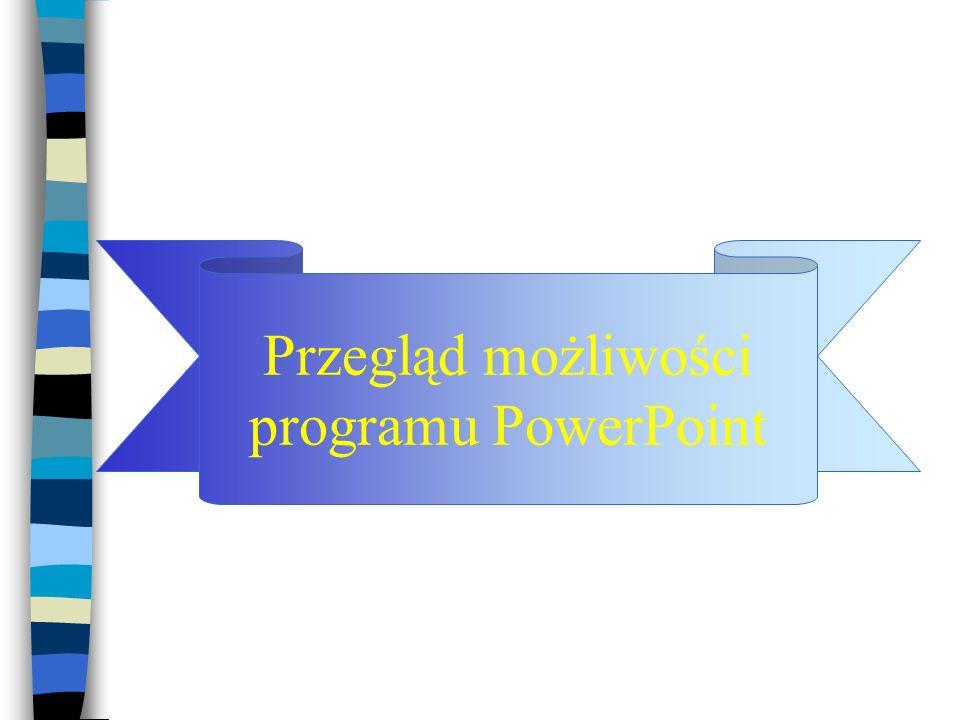 Cechy systemu MS Windows, wspomagające tworzenie prezentacji multimedialnych Powszechność systemu MS Windows; Zintegrowana i przeźroczysta obsługa urz