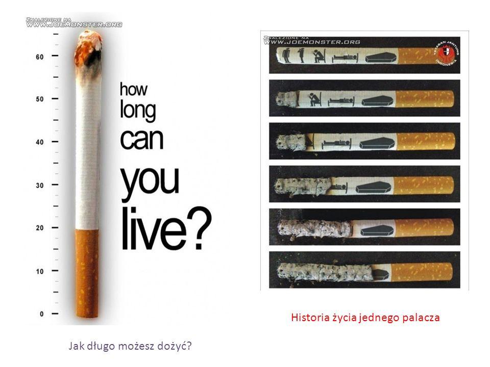 Historia życia jednego palacza Jak długo możesz dożyć?