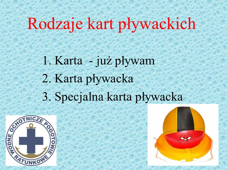Karta pływacka Solina 2009 Kurs przygotowawczy do egzaminu na Ratownika WOPR Jancio Wodnik 2009®