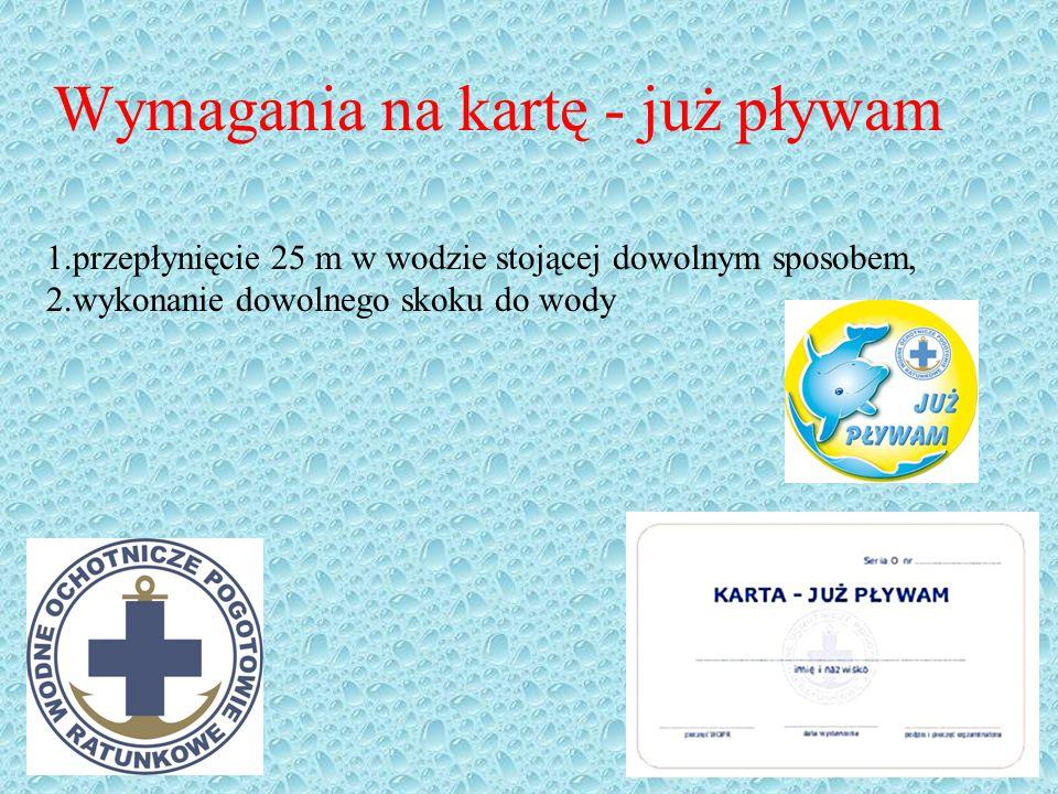 Definicja Karta pływacka - rodzaj dokumentu, poświadczającego umiejętność pływania osoby, której została wydana.