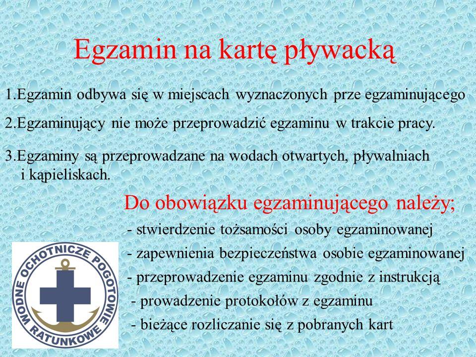 Wymagania na specjalną kartę pływacką Przedstawić aktualne zaświadczenie lekarskie o braku przeciwwskazań do pływania i nurkowania !! 1.przepłynięcie