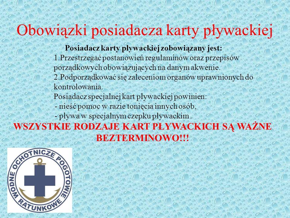 Kto może egzaminować ? Egzamin w celu uzyskania kart pływackich może przeprowadzić członek WOPR, upoważniony przez prezesa jednostki WOPR, posiadający