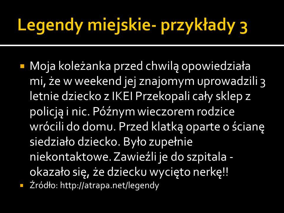 Szczury w toalecie zdarzają się dość często, w zeszłym roku w prasie wrocławskiej było o babce, która musiała na deske kłaść cegły, bo nie mogła sobie ze szczurami poradzić, ale największym hardkorem, również we Wrocławiu, jakieś pol roku temu byla babeczka kolo 70 lat, która w kiblou znalazla anakonde, bylo o tym nawet w teleeskpresie, po czym zaostawila ja na noc zamknieta w lazience, bo bala sie ze policja pomysli ze jest wariatka jak zadzwoni w nocy :D:d i te historie sa w 100% prawdziwe i świeze, z zeszłego roku, poszukjacie w google, to pewnie znajdziecie na stronach gazety wroclawskiej o tym Źródło: http://atrapa.net/legendy