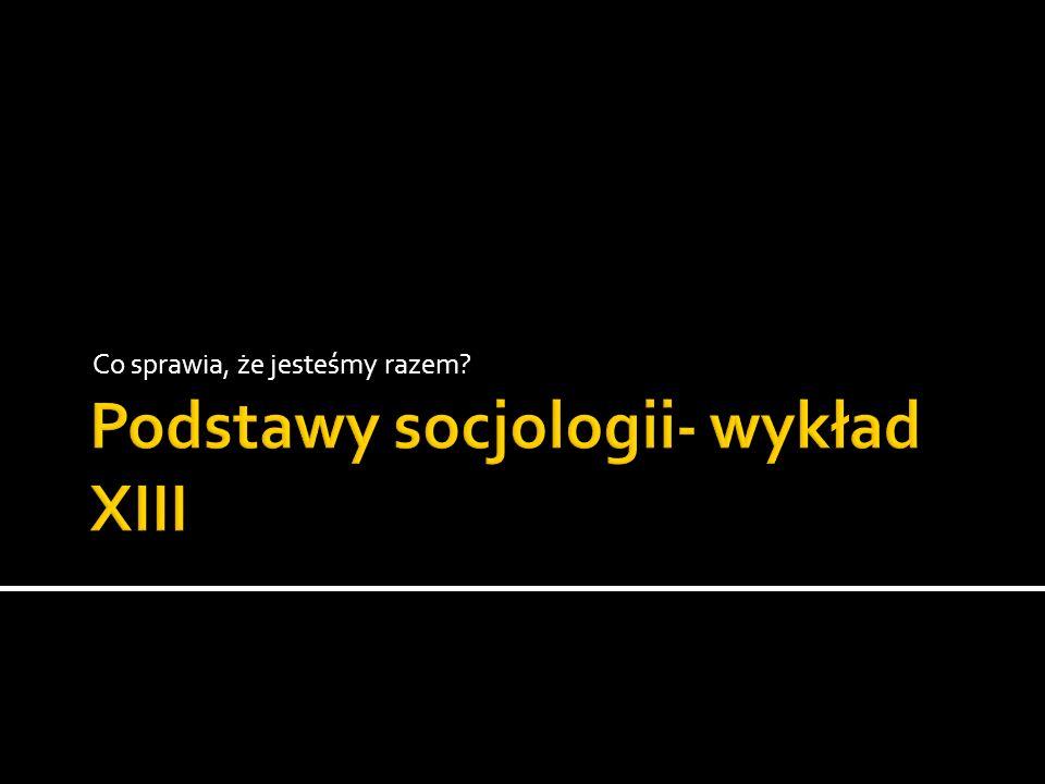 Zbiorowości oparte na podobieństwie zachowań (tłum, zbiegowisko, publiczność, audytoria) Kręgi społeczne ( zbiorowości osób dyskutujących) Społeczności (miejskie, sąsiedzkie, lokalne) Społeczeństwa (rozumienia: organizacyjne, polityczne, społeczne) Narody (zbiorowości terytorialne o charakterze ideologicznym) Zbiorowości fantomowe (Bauman) Peg Communities (Bauman) Społeczności sieciowe Itd.