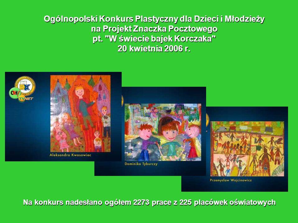 Ogólnopolski Konkurs Plastyczny dla Dzieci i Młodzieży na Projekt Znaczka Pocztowego pt.
