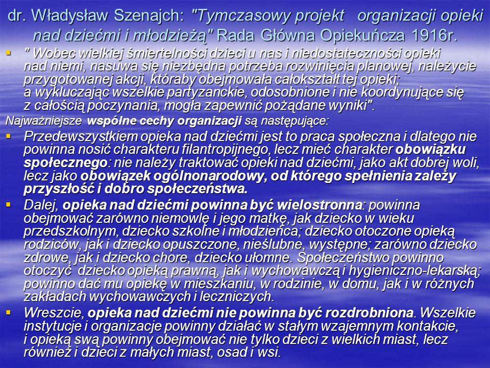 dr. Władysław Szenajch: