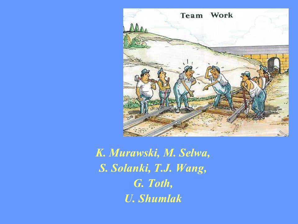 K. Murawski, M. Selwa, S. Solanki, T.J. Wang, G. Toth, U. Shumlak
