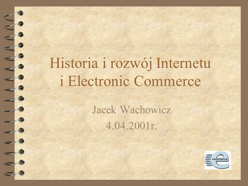 1992-1993 4 1992: liczba hostów przekracza 1.000.000 4 1992: Jean Armour Polly używa terminu surfing the Internet 4 1993:InterNIC - baza danych,uługi rejestracji oraz usługi informacyjne o domenach