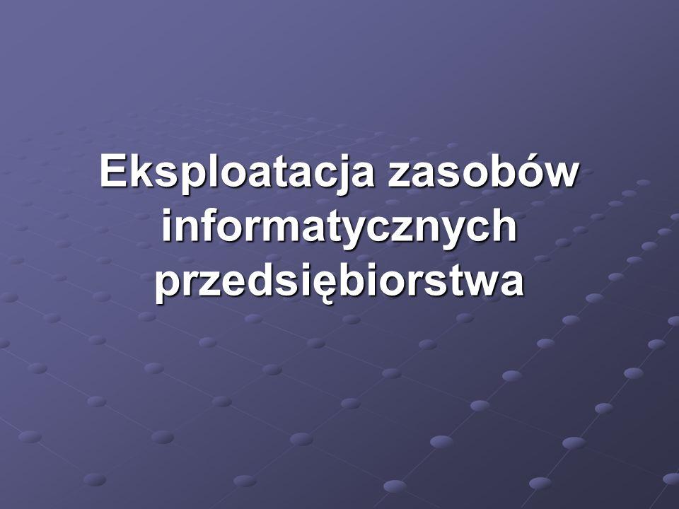 Cz. 1. Polityka bezpieczeństwa informacji System Bezpieczeństwa Informacji