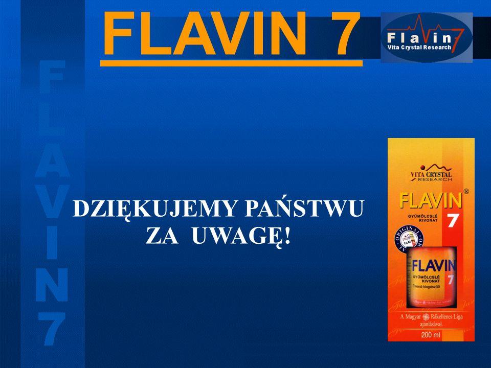 FLAVIN 7 DZIĘKUJEMY PAŃSTWU ZA UWAGĘ!