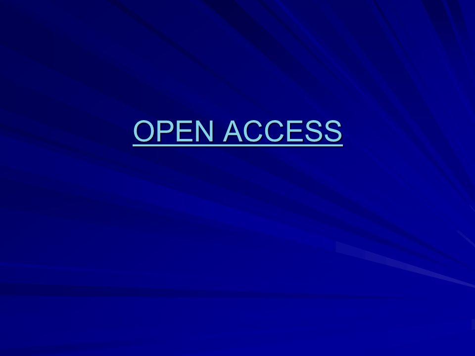OPEN ACCESS OPEN ACCESS