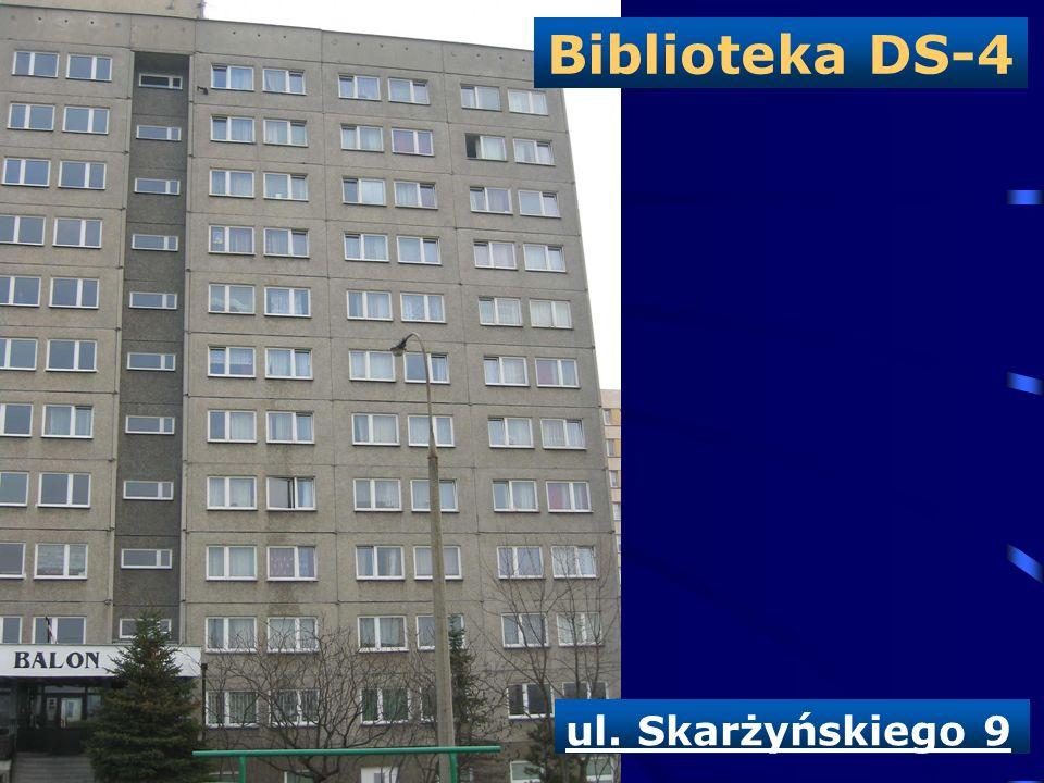 Biblioteka DS-4 ul. Skarżyńskiego 9