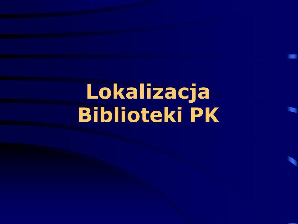 Lokalizacja Biblioteki PK