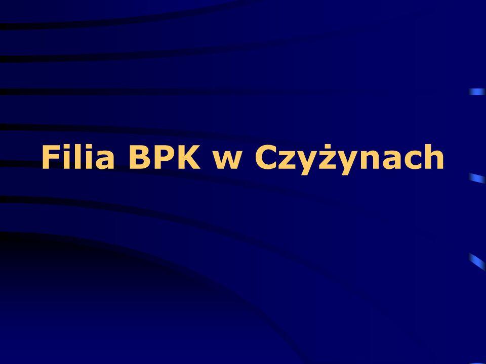 Filia BPK w Czyżynach