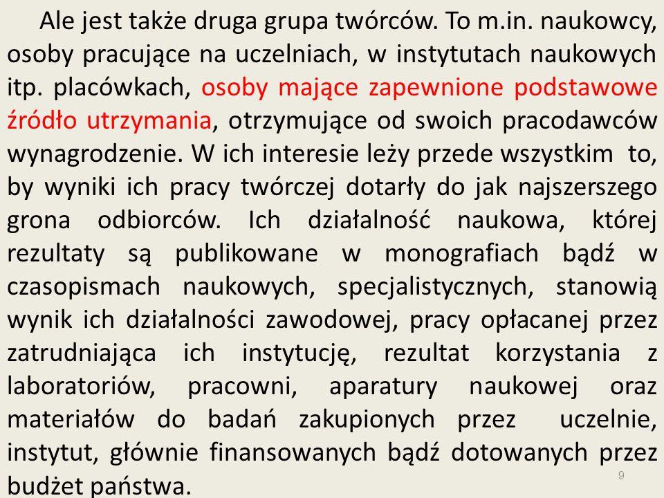 20 Art.104 ustawy o prawie autorskim: 1.