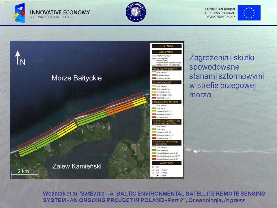 Zagrożenia i skutki spowodowane stanami sztormowymi w strefie brzegowej morza Woźniak et al