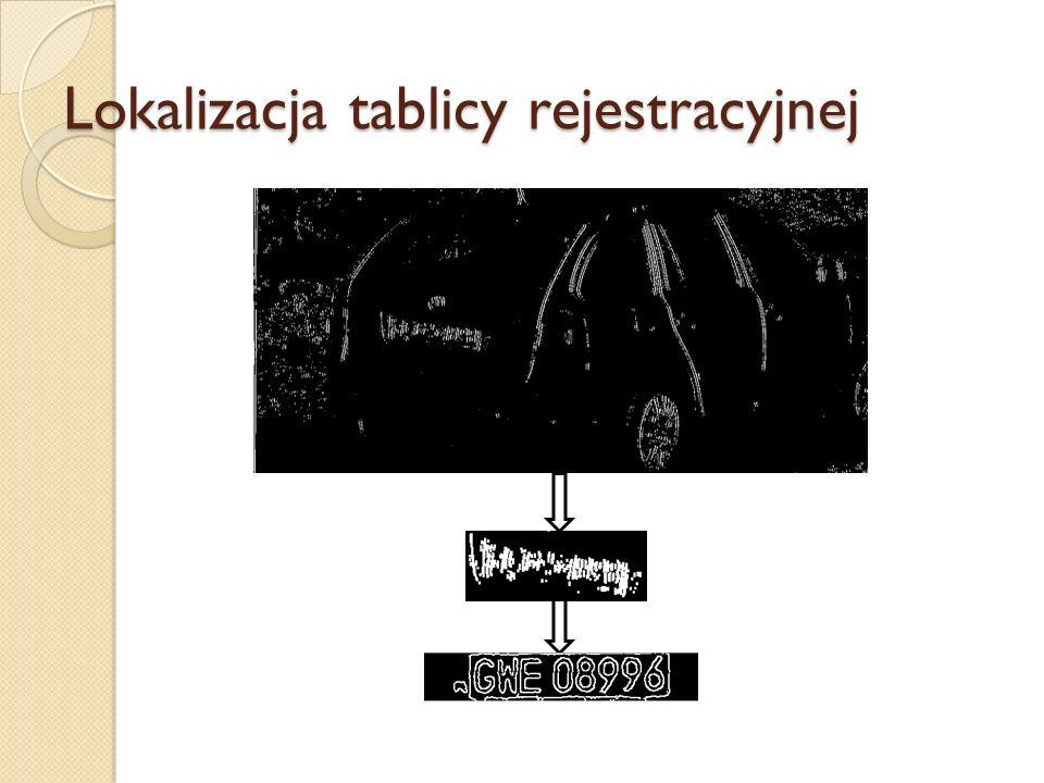 Przekształcenie obrazu na ciąg znaków (moduł OCR) Rozpoznawanie znaków