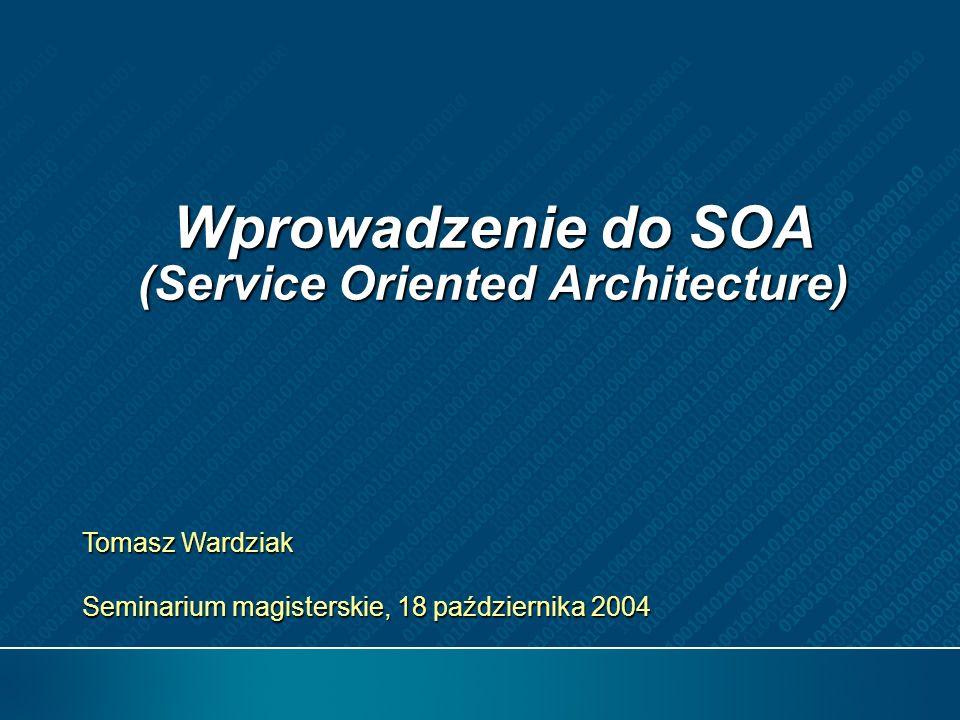 Agenda Wprowadzenie Integracja: Usługi vs.